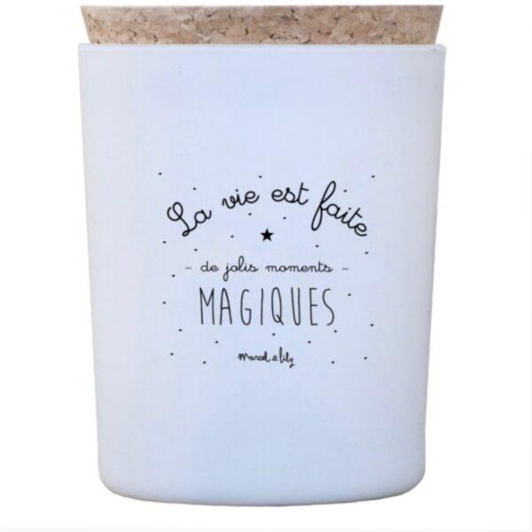 Bougie Moment magique Marcel et Lily