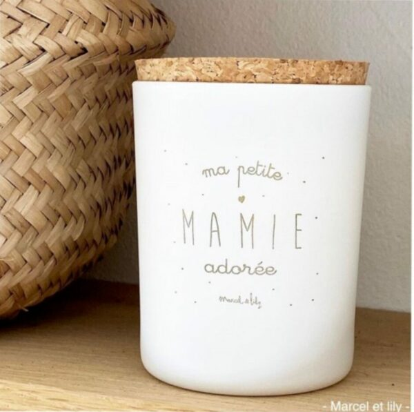 Bougie Mamie Marcel et Lily